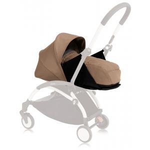 Babyzen - BU078 - Poussette Yoyo+ cadre noir pack naissance taupe (354698)