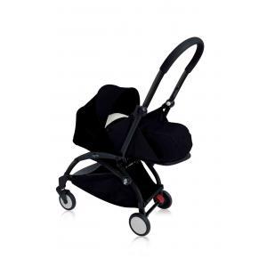 Babyzen - BU077 - Nouvelle poussette Babyzen Yoyo plus cadre noir pack naissance noir (354700)