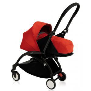 Babyzen - BU076 - Poussette Yoyo+ cadre noir pack naissance rouge (354702)