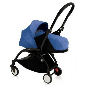 Babyzen - BU073 - Nouvelle poussette Babyzen Yoyo plus cadre noir pack naissance bleu (354708)