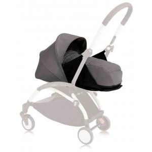 Babyzen - BU067 - Poussette Yoyo+ cadre blanc pack naissance gris (354720)