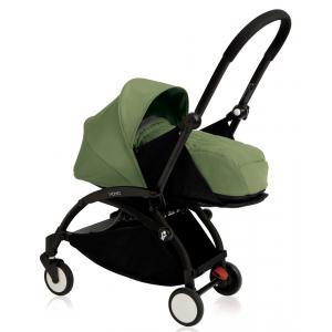 Babyzen - BU079 - Poussette Yoyo+ cadre noir pack naissance peppermint (354726)