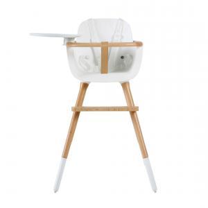 Micuna - T-1771-gen246 - Chaise haute (plateau et harnais inclus) couleur blanc (355112)