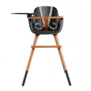 Micuna - T-1771-gen260 - Chaise haute (plateau et harnais inclus) couleur gris (355114)