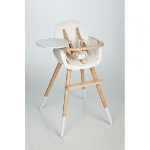 Micuna - TX-1646-gen109 - Coussin en textile chaise haute couleur blanc (355122)