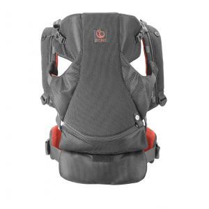 Stokke - 431607 - Porte bébé MyCarrier™ position abdominale & dorsale Corail Mesh (356586)