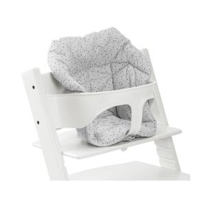 Stokke - 496002 - Coussin mini pour chaise Tripp Trapp pois couleur nuage (356624)