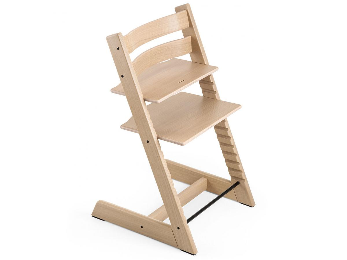 Stokke chaise haute tripp trapp ch ne blanc for Chaise stokke