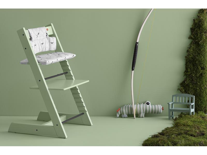 Stokke chaise haute tripp trapp vert for t - Chaise haute tripp trapp ...