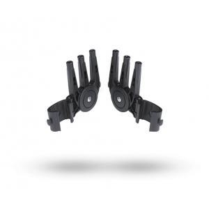 Bugaboo - 180400 - Pinces de capote pour poussette Bugaboo Donkey/Buffalo/Runner (357246)