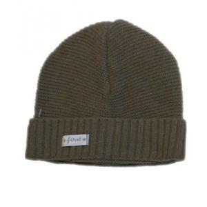 First - 27986-14147 - Bonnet bebe en tricot marron (357794)