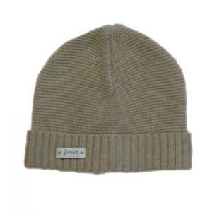 First - 27990-14149 - Bonnet bebe en tricot sable (357796)