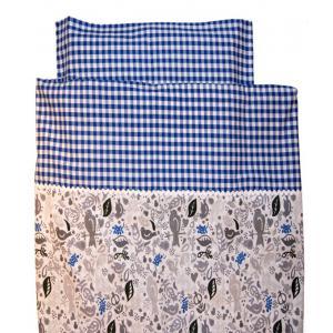 Kids Gallery - 38540-24215 - Housse de couette 100 x 135 cm carreaux bleux (357924)