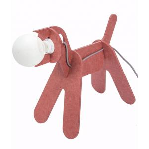 Kids Gallery - 38464-24140 - Lampe Chien Get Out rouge marsala (357936)