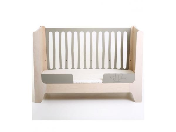 kids gallery lit bebe evolutif ecologique gris. Black Bedroom Furniture Sets. Home Design Ideas