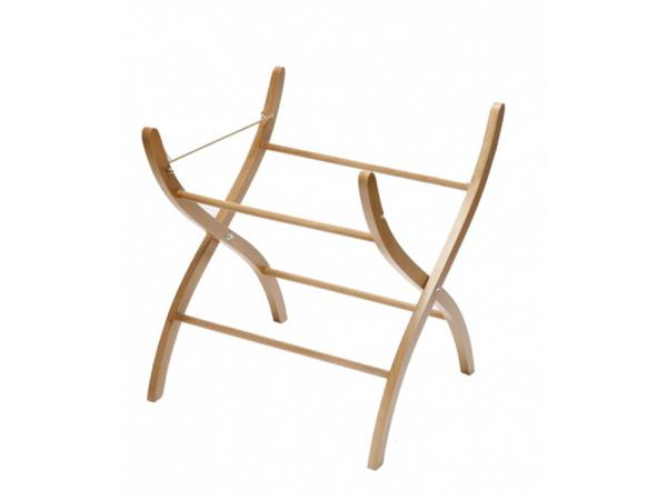 kids gallery support bois naturel pour couffin osier. Black Bedroom Furniture Sets. Home Design Ideas