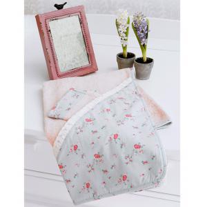 Laura Ashley - 39344-24940 - Cape de bain + Gant Patchwork florale (358072)