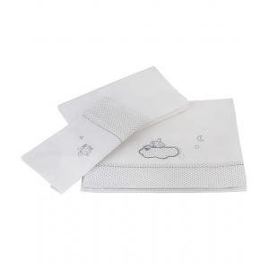 Laura Ashley - 31518-18200 - Parure de lit 3 pieces (2 draps + 1 taie) (358192)