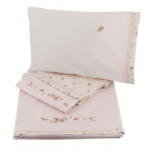 Laura Ashley - 31528-18210 - Parure de lit 3 pieces (2 draps + 1 taie) (358194)
