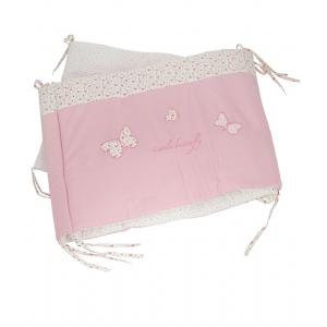 Laura Ashley - 39404-24995 - Tour de lit Bella Papillon rose (358230)
