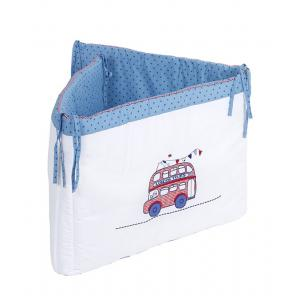 Laura Ashley - 39406-24997 - Tour de lit Bus de Londres turquoise (358232)