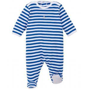 Petit Bateau - 31667-18633 - Pyjama bebe Marin Bleu et blanc (358336)