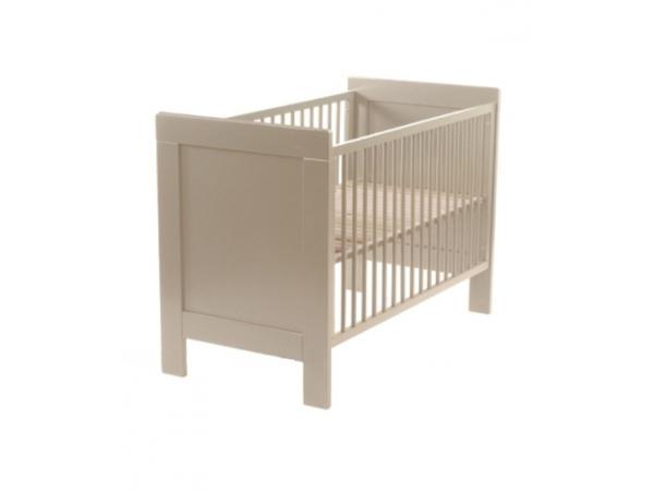 quax lit bebe margot grisato 60 x 120 cm. Black Bedroom Furniture Sets. Home Design Ideas