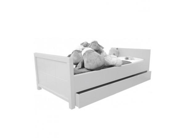 Quax lit enfant 90 x 200 cm quarre white for Lit enfant quax