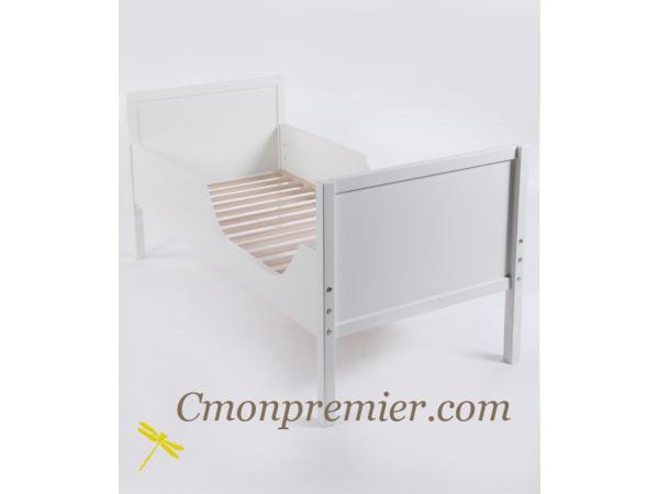 quax lit junior colours 70x150cm white. Black Bedroom Furniture Sets. Home Design Ideas