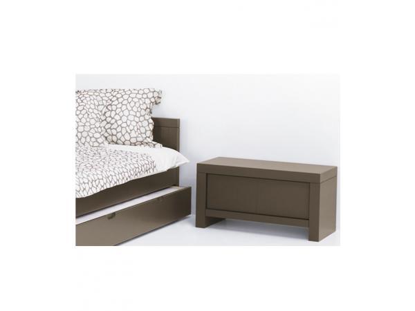 quax table de nuit quarre avec 1 tiroir tartufo. Black Bedroom Furniture Sets. Home Design Ideas