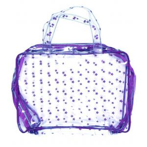 Zef - 34250-21371 - Vanity Aqua transparent imprime etoiles violettes (358618)