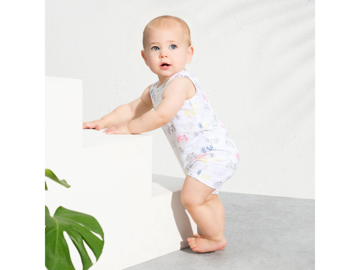 aden and anais barboteuse cycles tank romper. Black Bedroom Furniture Sets. Home Design Ideas