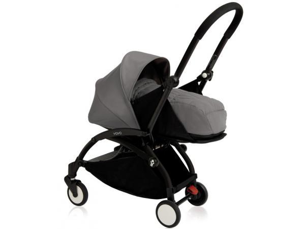 babyzen poussette yoyo babyzen complete gris chassis noir. Black Bedroom Furniture Sets. Home Design Ideas
