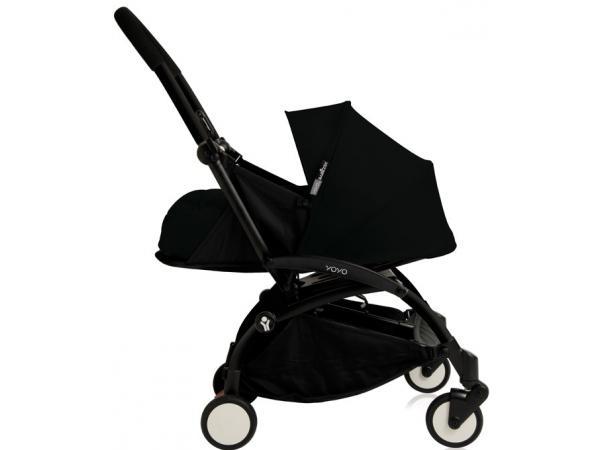 babyzen poussette yoyo babyzen complete noir chassis noir. Black Bedroom Furniture Sets. Home Design Ideas