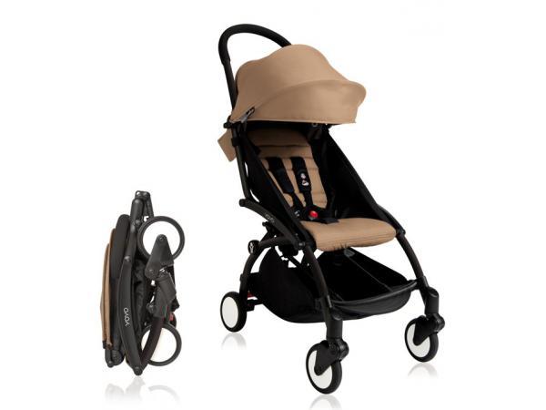 babyzen poussette yoyo babyzen complete taupe chassis noir. Black Bedroom Furniture Sets. Home Design Ideas
