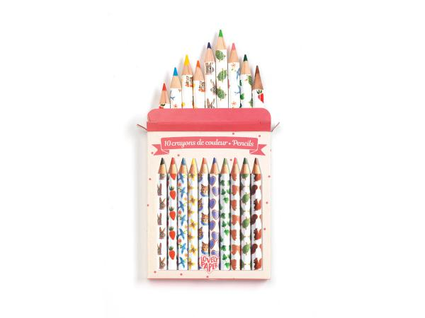 Crayons / marqueurs / stylos - crayons de couleurs aiko