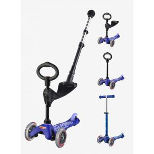 Micro - MMD049 - Trottinette Mini 3in1 Push Bar Deluxe - Bleu (361618)