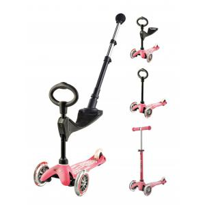 Micro - MMD048 - Trottinette Mini 3in1 Push Bar Deluxe - Rose (361620)