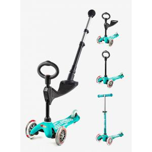 Micro - MMD047 - Trottinette Mini 3in1 Push Bar Deluxe - Aqua (361622)