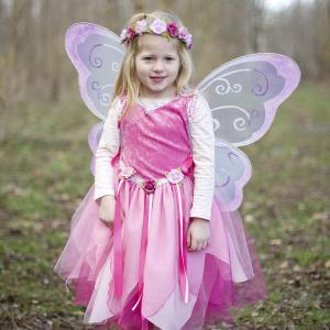 Great Pretenders - 30425 - Tunique Forest Fairy, rose, taille EU 104-116 - Ages 4-6 years (361814)