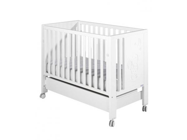 Micuna lit bebe cielo luxe relax blanc for Lit bebe luxe
