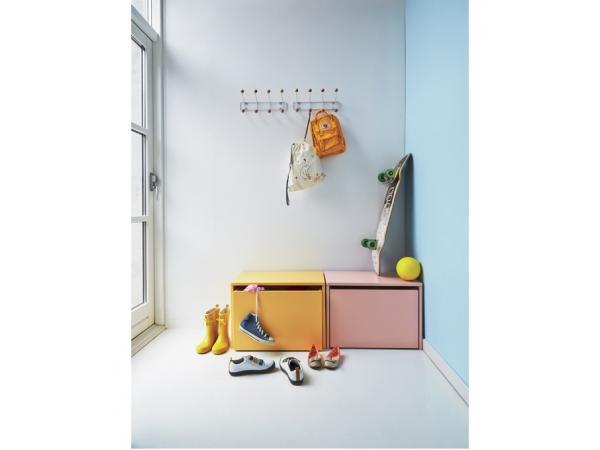 flexa play banc et coffre de rangement flexa play blanc. Black Bedroom Furniture Sets. Home Design Ideas