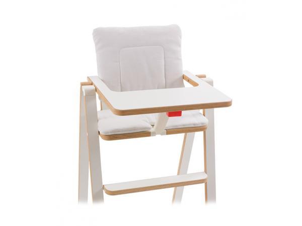 supaflat coussin pour chaise haute supaflat beige. Black Bedroom Furniture Sets. Home Design Ideas
