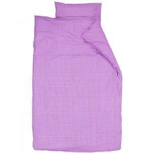 Taftan - 33528-20729 - Housse de couette 140 x 200 cm vichy violet (363170)