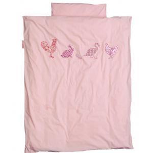 Taftan - 33517-20718 - Housse de couette 140 x 200 cm animaux rose (363172)