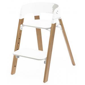 Stokke - 349402 - Pieds de chaise haute Steps Hêtre Noyer* (363182)