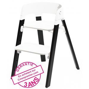 Stokke - 39133-24778 - Pieds pour chaise Steps chene noir (363184)