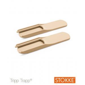 Stokke - 30936-17472 - Lot de 2 patins pour chaise TRIPP TRAPP naturels (363202)