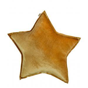 Numéro 74 - 37479-23555 - Coussin etoile Velvet jaune (363268)