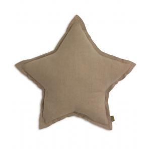Numéro 74 - 33642-20819 - Coussin Etoile coton pastel beige (363286)
